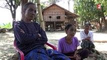 Birmanie : les femmes tatouées d'une toile d'araignée, une tradition qui se meurt