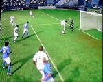 Fifa 10 funny moments, goals and goalkeeper and penalties shot xbox360