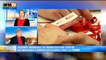 """""""Red Day"""": BFMTV en rouge pour sensibiliser aux maladies cardiovasculaires féminines"""