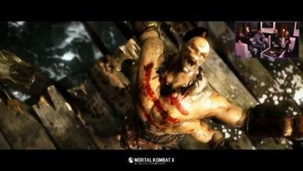 Goro en Gameplay de Mortal Kombat X