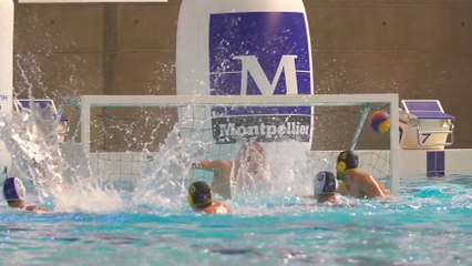 Water-Polo Masculin: Montpellier-Marseille (14ème journée - 2014/2015)