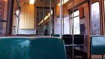 RET Metro ritje type T - De Tochten - Nesselande (Met 5245)