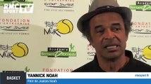 """Basket / Yannick Noah : """"Joakim fait ce qu'il veut"""" 08/04"""