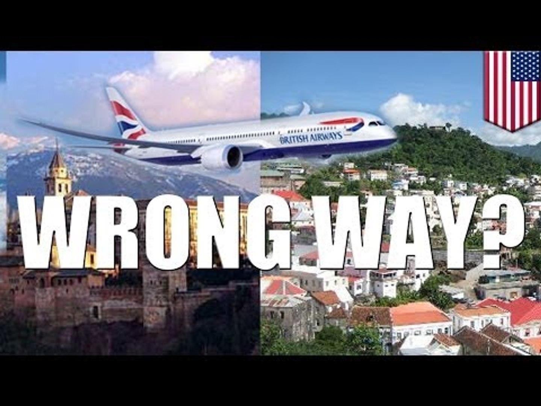 Стоматолог судится с авиакомпанией British Airways, отправившей его в Гренаду вместо Гранады