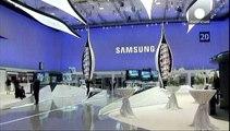 Samsung forecast upbeat despite falling revenues