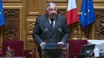 """Gérard Larcher : """"Le système n'a rien retenu depuis Béregovoy"""""""