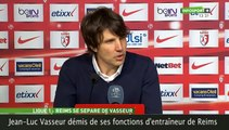 Stade de Reims : L'entraîneur Jean-Luc Vasseur mis à la porte !
