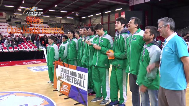 Cholet Mondial Basketball - lundi 6 avril 2015