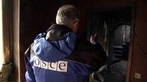 الهدنة في شرق اوكرانيا لا تحمي منازل دونيتسك من القذائف