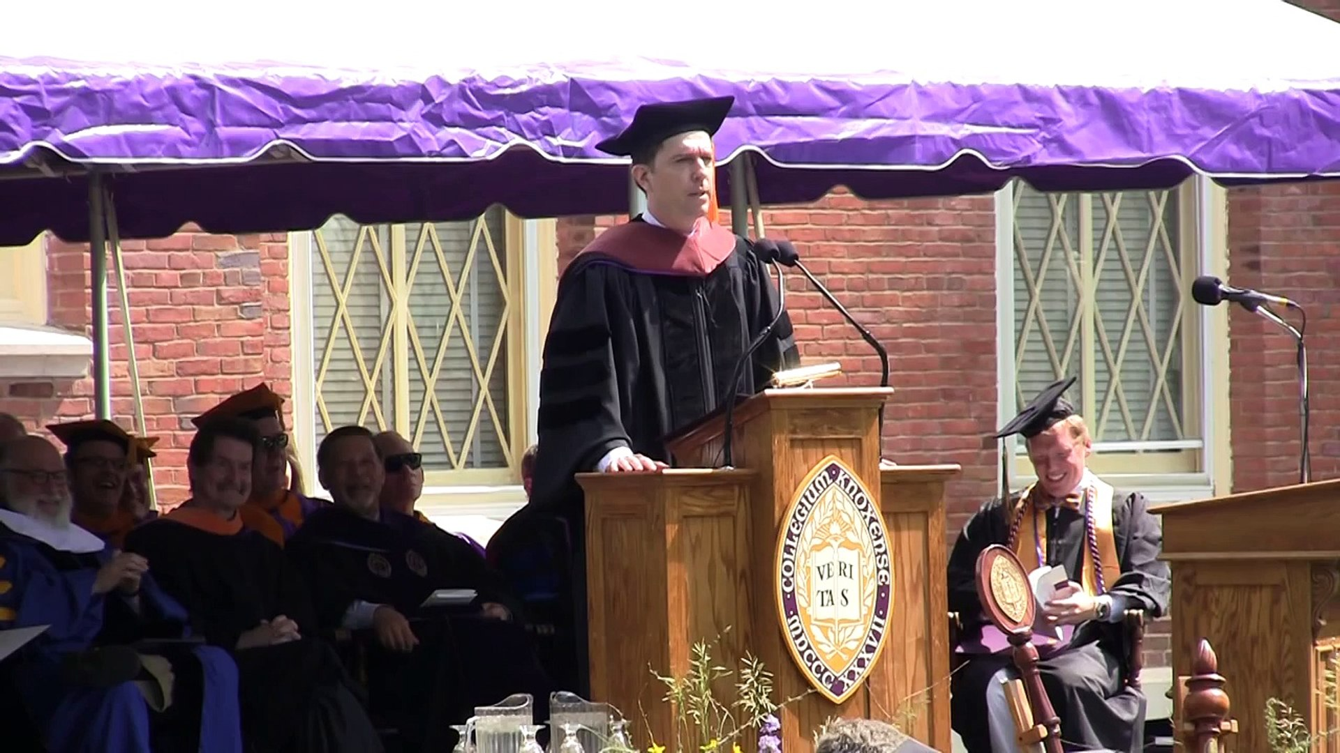 Ed Helms Gives Knox 2013 Commencement Address