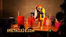 clown magicien le mayet de montagne le vernet cérilly beaulon diou neuvy st remy en rollat