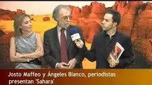 """Presentación del libro """"Sahara"""" para Diario Crítico"""