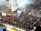 Emeutes Grèce AEK Athènes - PAOK Salonique Handball