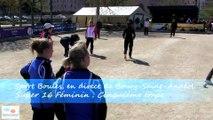Mène 6, Finale du Super 16 Féminin, Sport Boules, Bourg-Saint-Andéol 2015