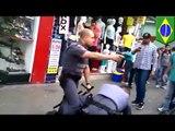 Straßenhändler wird bei Gerangel von Polizist erschossen