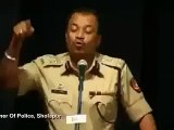 Indian Hindu Police Officer's Excellent Speech in the Honor of the Prophet Muhammad (PBUH)