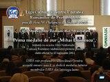 Gala LSRS 2011 - Liga Culturala, Medalie pentru LSRS