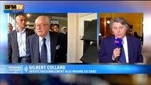 """Gilbert Collard serait """"ravi que Jean-Marie Le Pen ne soit plus président d'honneur du FN"""""""
