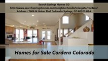 Search Springs Homes CO : Homes for Sale in Cordera Colorado
