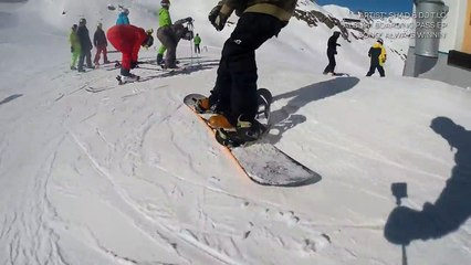 New GoPro Shorts: AREA 47 Snowpark Sölden - Big Line Big Time - February 2015
