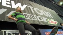Dew Tour - Leticia Bufoni Wins Skate Park Finals - Boston 2010