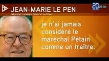 Pétain, les immigrés, Jean-Marie Le Pen embarrasse encore le FN