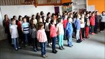 Ecole en choeur-Académie de Grenoble-Ecole élémentaire Institution Saint-Charles à Vienne