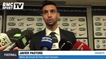 Football / Coupe de France : la réaction des joueurs parisiens - 08/04