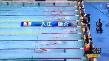 第91回日本選手權水泳競技大會-男子100m仰泳