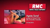 Agnès Soral passe le Grand Oral des Grandes Gueules (07/04/2015)