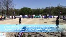 Finale de la cinquième étape du Super 16 Féminin, Sport Boules, Bourg-Saint-Andéol 2015