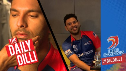 "What's making Yuvraj Singh ""LOL"" during today's photoshoot? 