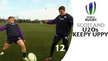 Scotland Rugby keepy-uppy challenge! INSIDE ACCESS