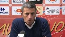 Gazélec Ajaccio 1-1 Stade Brestois : les réactions de T. Laurey & A. Dupont !