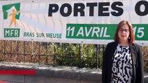 Interview - Tiphaine Anselmo - Portes ouvertes samedi 11 avril 2015 à la MFR de Bras-sur-Meuse