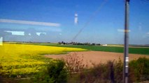 Скоростной поезд TGV во Франции (High-speed train TGV in France)