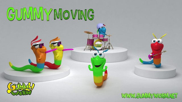 The Gummy Worm song - Gummy Moving