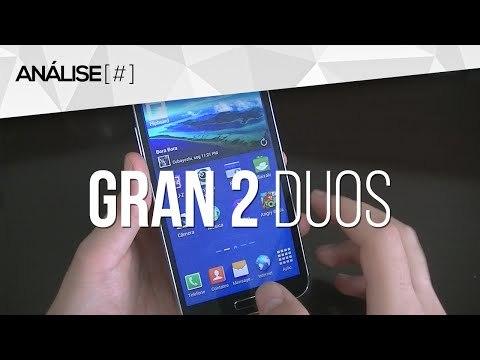 Análise do Samsung Galaxy Gran 2 Duos com TV Digital (G7102)