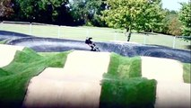Chelmsford BMX Pump Track - Built by Dirt-Traxs BMX track builders