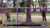 Un policier blanc aux États-Unis tire dans le dos d'un homme noir non armé