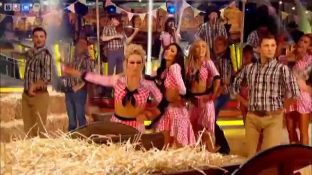 Strictly Pros Dance to 'Cotton Eyed Joe Timber' medley - Strictly Come Dancing