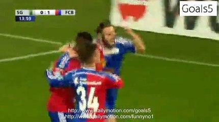 Gashi S Goal St Galen 0 - 1 Basel Swiss Cup 8-4-2015