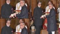 Amitabh Bachchan conferred with Padma Vibhushan