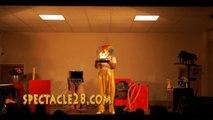 clown magicien MAZE ECOUFLANT ST GEMMES SUR LOIRE BAUGELA POMMERAYE TIERCE LA SEGUINIERE  LE LION D ANGERS POUANCE