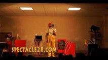 clown MAGICIEN DURTALJALLAIS ST PIERRE MONTLIMART ST GEORGES SUR LOIRE LA TESSOUALLE MAULEVRIER TREMENTINES  BRAIN SUR L