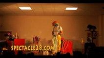 clown MAGICIEN BRAIN SUR AUTHION MONTJEAN SUR LOIRE ST FLORENT LE VIEIL VILLEVEQUEST  LEGER SOUS CHOLET CANDE CORNE ALLO