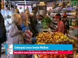 Embargoul rusesc le-a provocat fermierilor moldoveni pierderi uriașe - 145 de milioane de dolari. Nu au unde să îşi vândă fructele şi legumele. România a fost singura piaţă care şi-a deschis porţile pentru fructele şi legumele de peste Prut