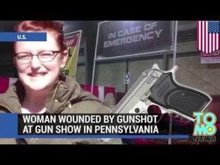 Frau wird bei Waffenshow von Kugel getroffen