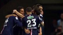 Zlatan Ibrahimovic Great Goal - PSG vs Saint-Étienne 3-1 ( Coupe de France ) 2015
