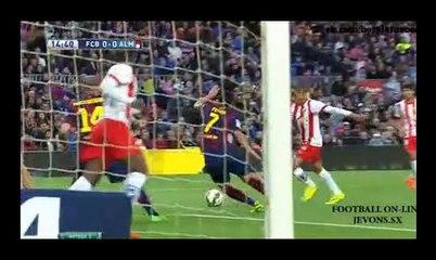 08.04.2015 - All goal | FC Barcelona 4-0 UD Almería - HD